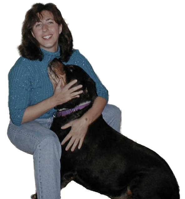 Image of KC and her dog Hombre
